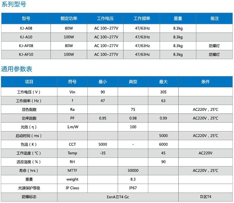 KJ-A户外系列雷竞技app官网灯